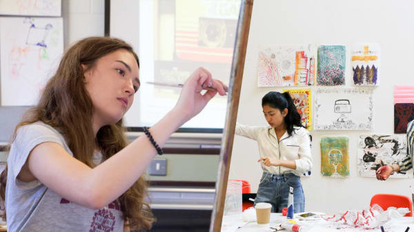 Art and Design Residential Summer School for 13 to 16 Year Olds students