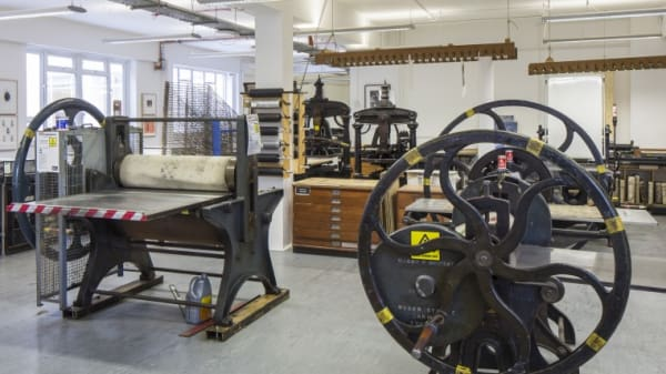 Printmaking at Kings Cross