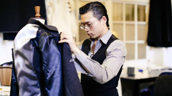 Micky Wong, BA (Hons) Bespoke Tailoring, London College of Fashion