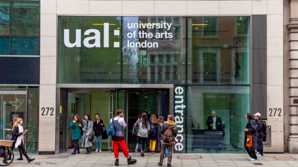 External shot of the UAL building at 272 High holborn
