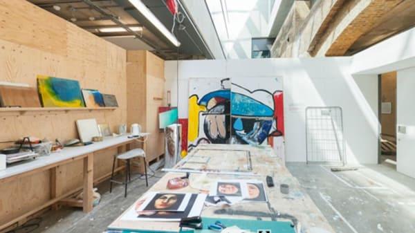 An art studio