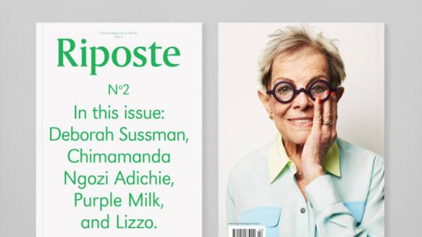 Graphic design for Riposte Magazine
