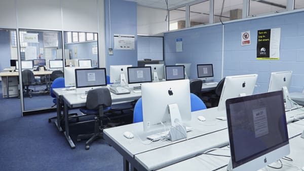 Digital media centre at Wimbledon.