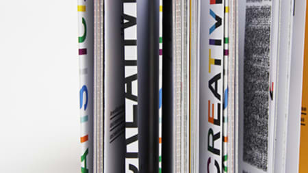 Pages of a magazine