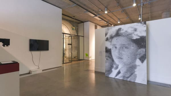 Work on display in the Lethaby Gallery at Central Saint Martins