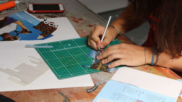 Art and Design Workshops for 13 to 16 Year Olds