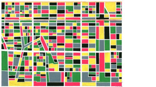 Geometry Tokyo No 1 by Kathy Prendergast
