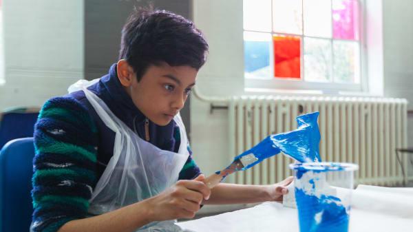 Art classes for children in Folkstone
