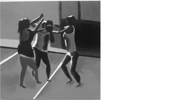 Beasties fighting by Michael Bryan