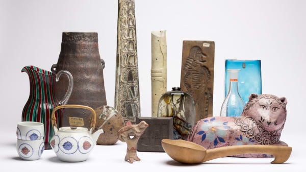 Objects from the Camberwell College of Arts ILEA Collection.