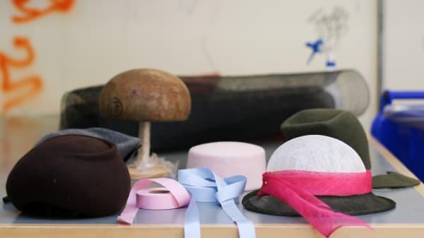 Hats and hat blocker