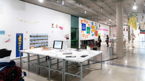 Foundation Degree show installation 2018