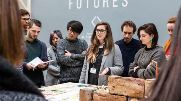Students at material futures