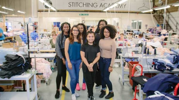 Students from the Fashion Technology Academy