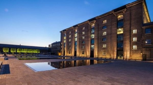 Exterior shot of Central Saint Martins at Granary Square