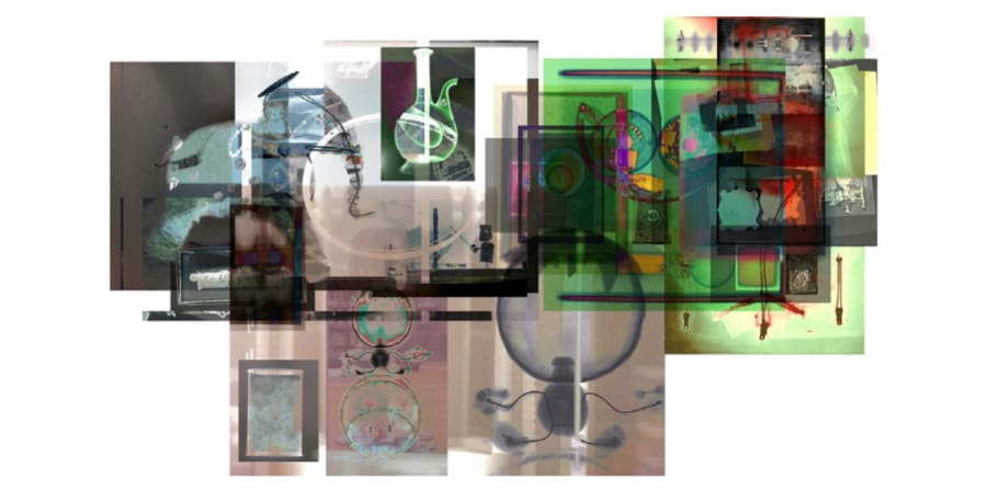collage of x rays