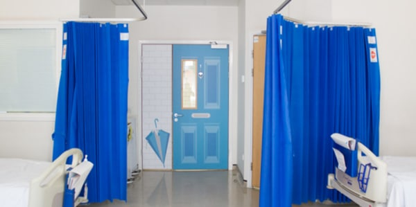 View of a hospital ward