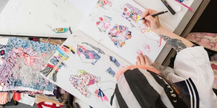 BA Fashion Design with Knitwear, CSM,