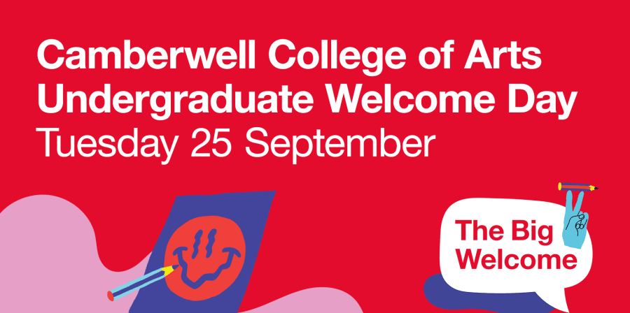 Camberwell Welcome Day banner