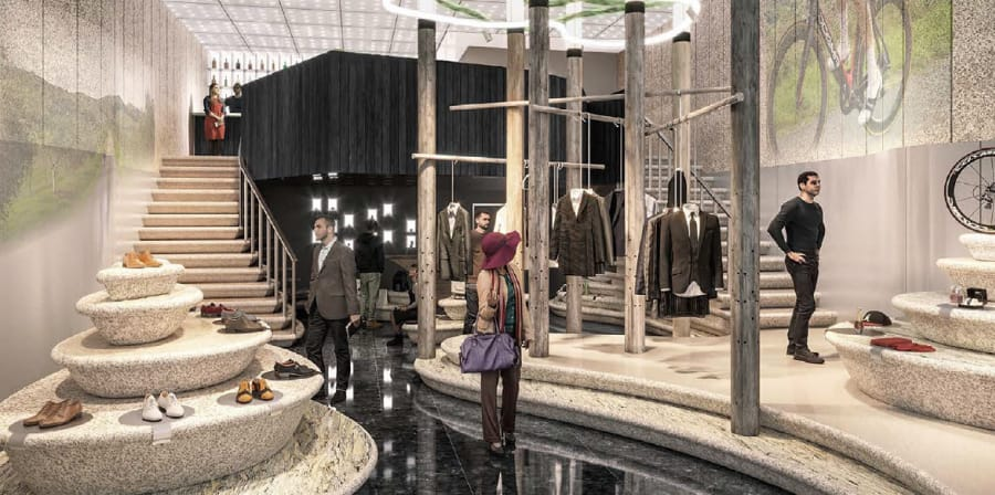 LVMH Green Concept Store - Journey