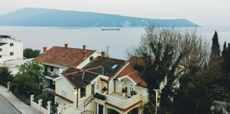 sea view from window
