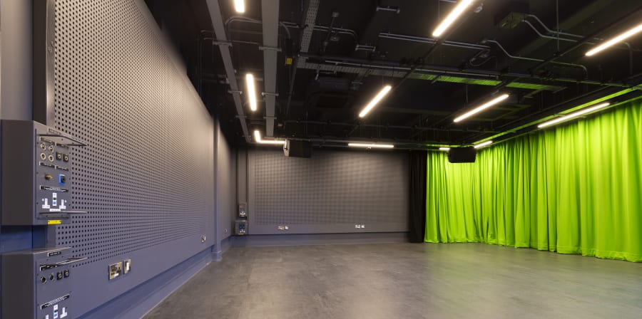 Technically Enhanced Studio at Wimbledon College of Arts.