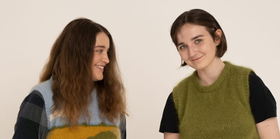 Portrait of Rosie and Laura