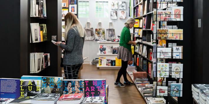 Women in bookshop