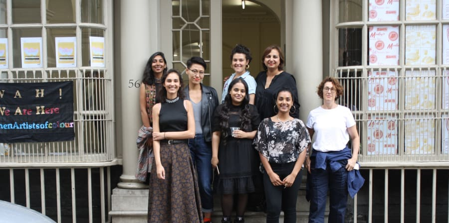 photo of the female artists of colour