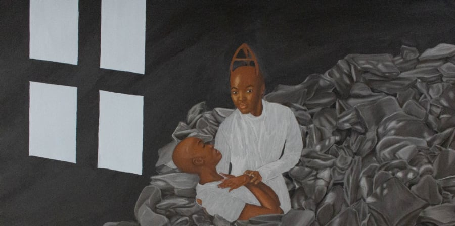 painting of baptism