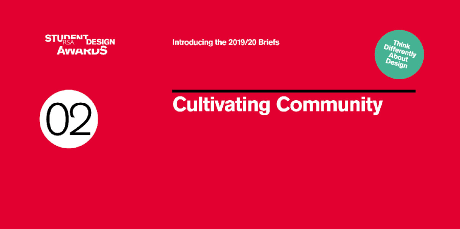 A promotional social asset for the Communities Brief.