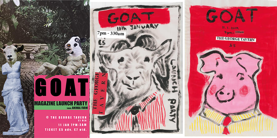 Alumni, magazine, launch, GOAT
