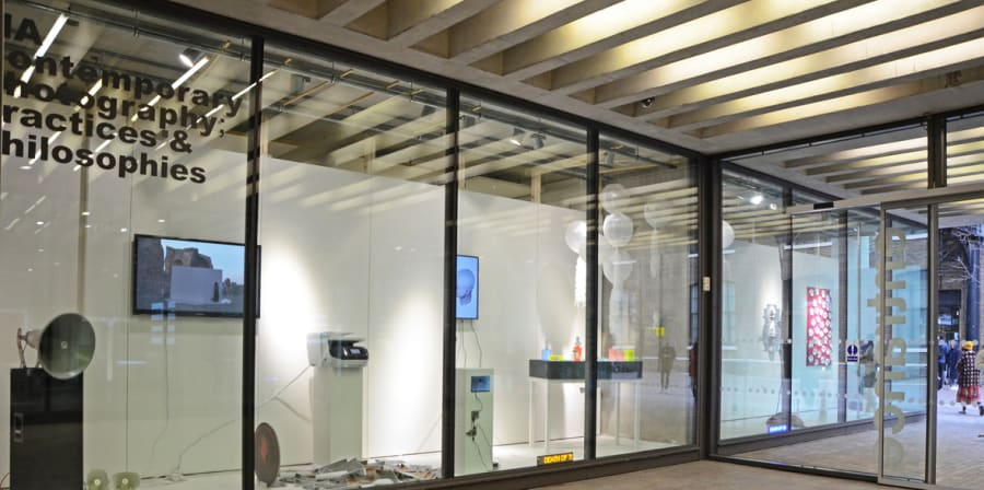 A windows gallery installation view
