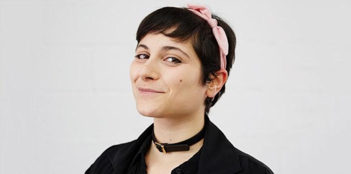 Staff profile headshot Annie Masciave