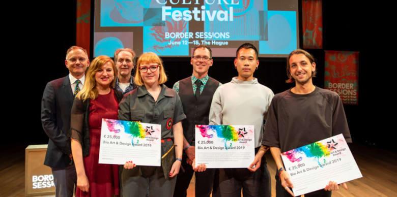 MA Interaction Design Communication graduate wins€25,000 with Bio Art & Design Award 2019.