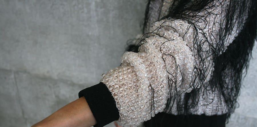 Knitted garment