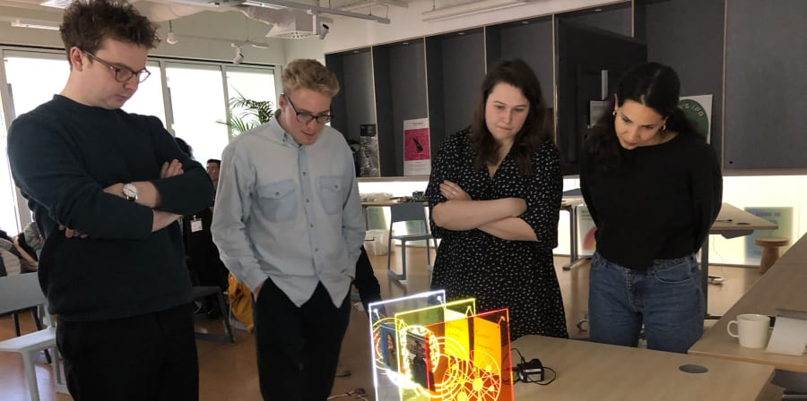 students an industry analysing work