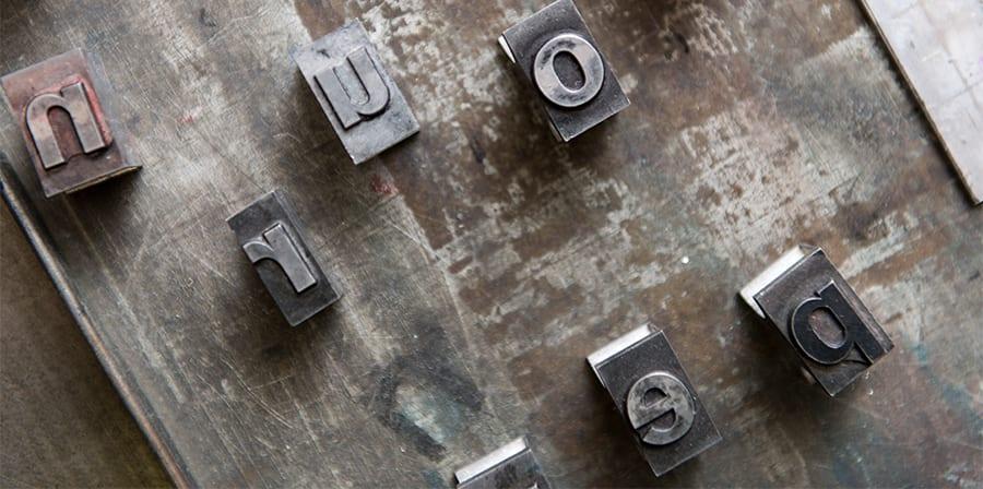 Tools at the Letterpress Workshop