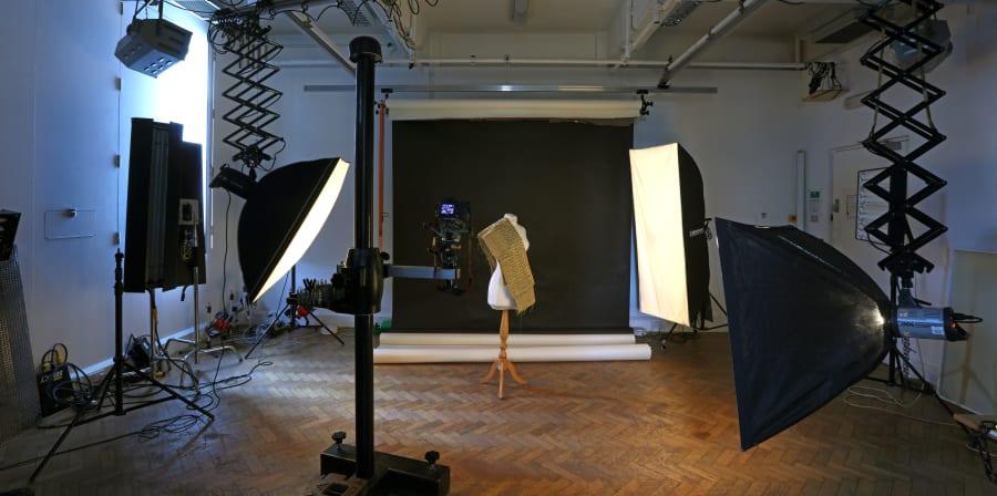 Photography studio at Wimbledon.