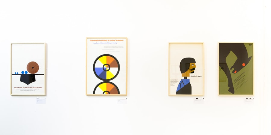 An exhibition of artist and former LCC staff member Tom Eckersley's works.