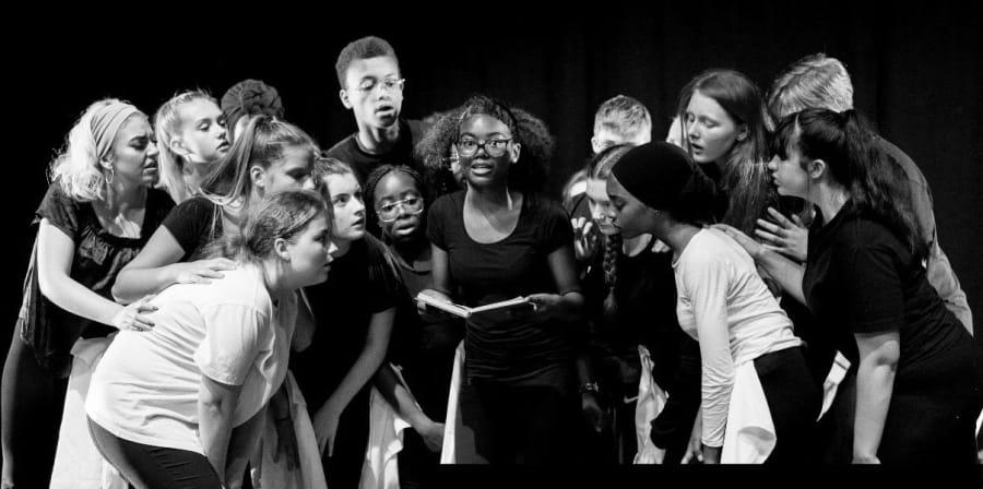 Performance group at Barbican