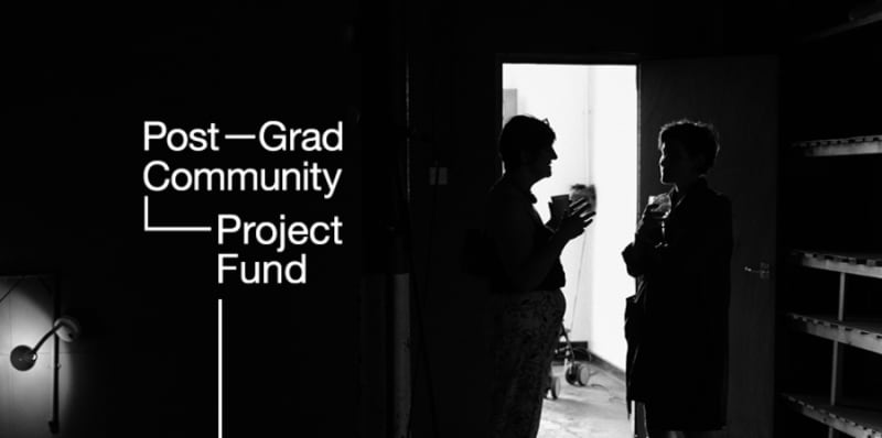 Postgrad Project Fund 2019 Now Open