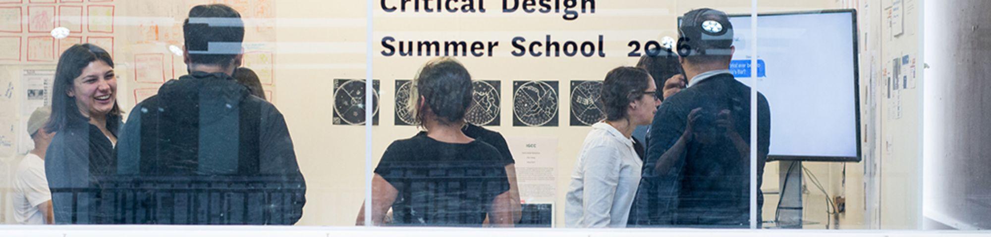 Speculative and critical design summer school 2016