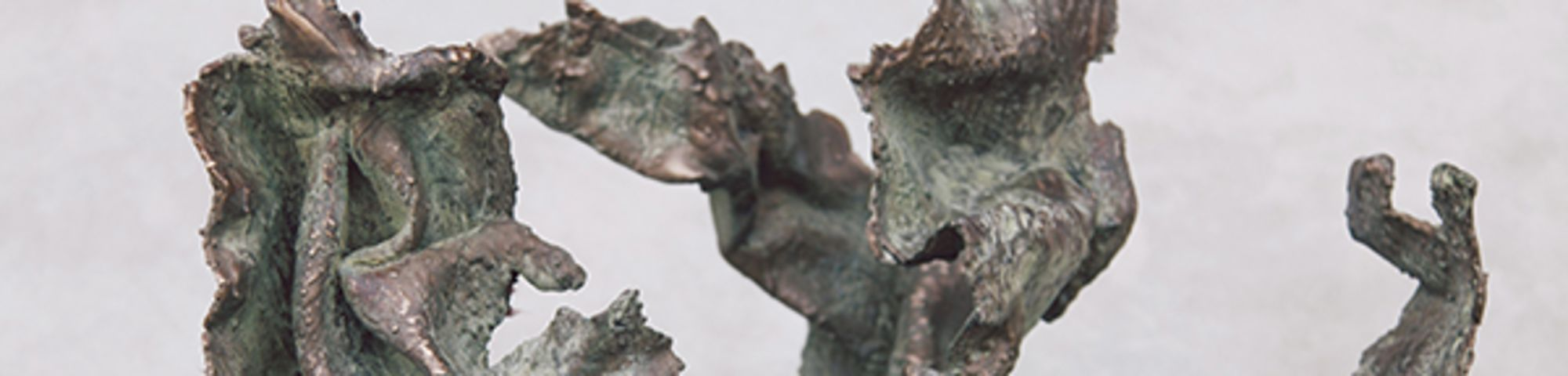Angel sculpture by Alex J Wood Picton Art Prize