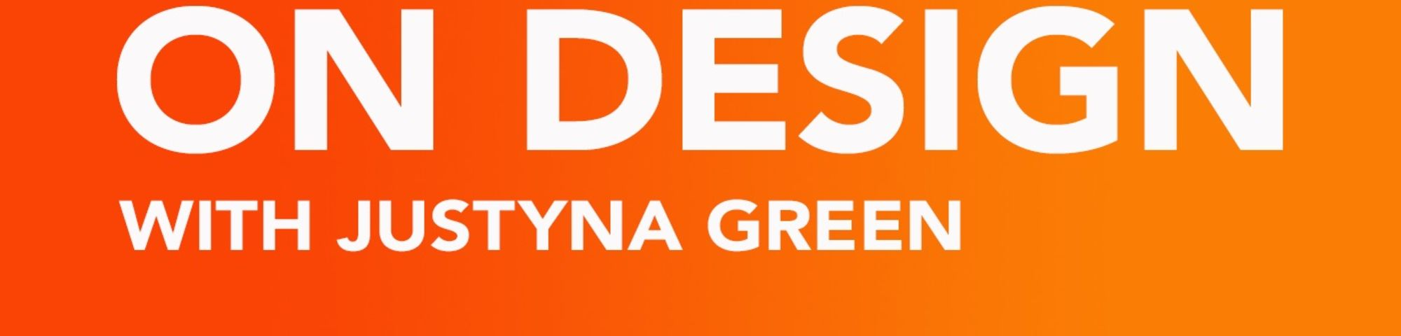 text over orange background