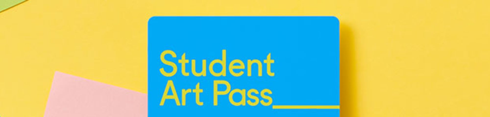 Student Art Pass: a year of art for £5