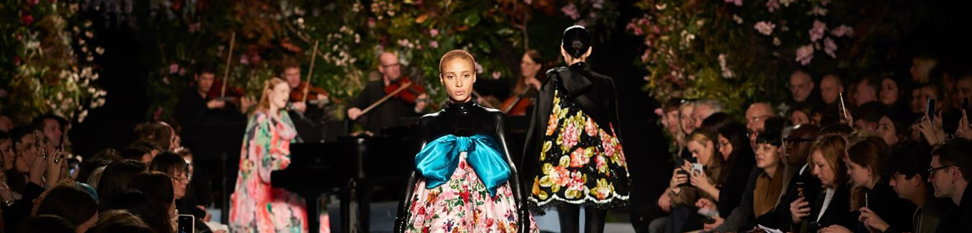 British fashion council catwalk