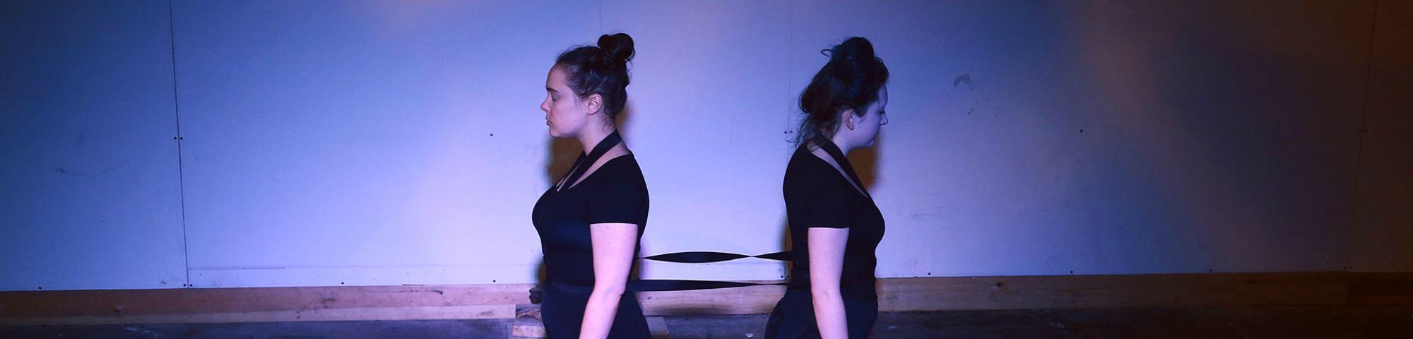 Performance work by Lizzie Masterton.
