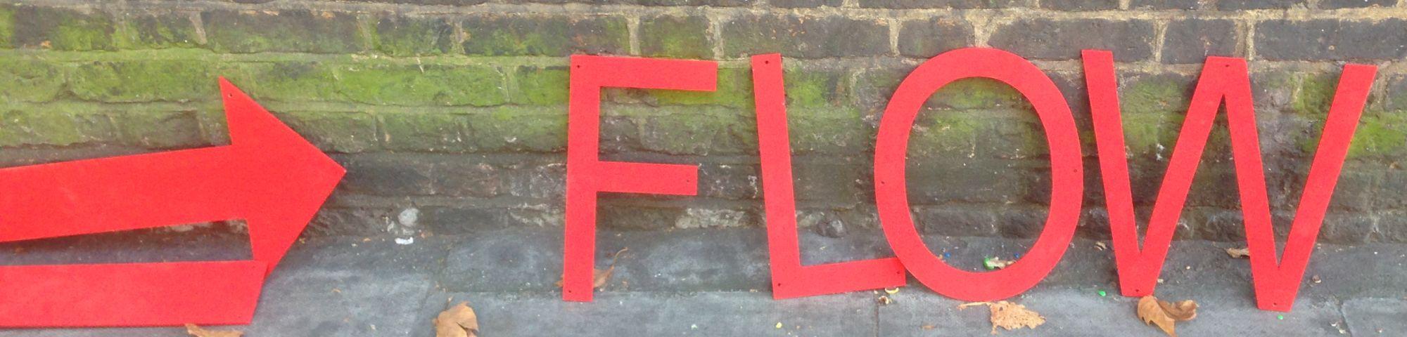 Queenie Clarke solo exhibition 'Flow'