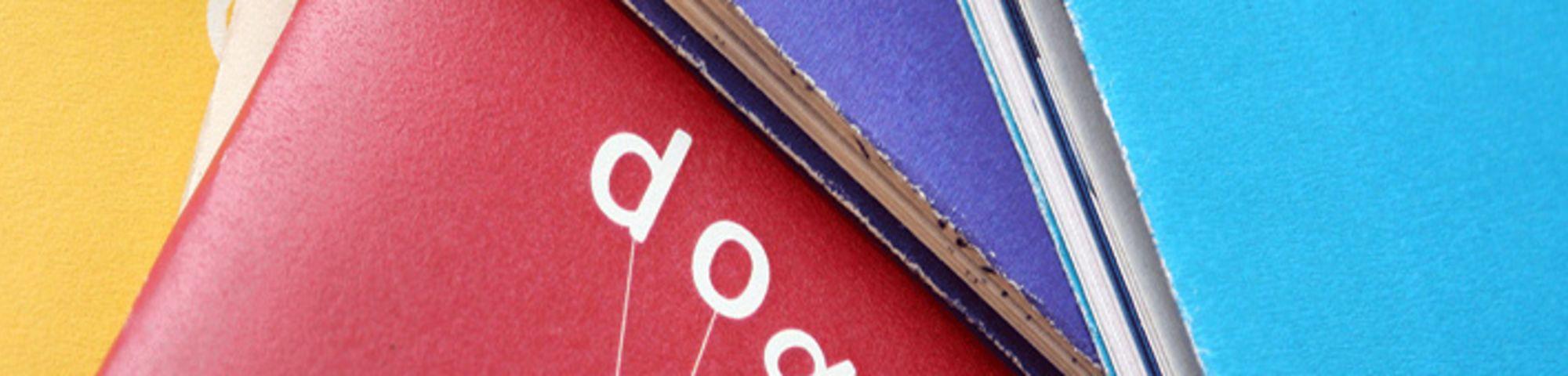 Mutli coloured book covers